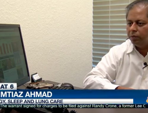 Dr. Ahmad Discusses Rising Pollen Counts and Allergies on NBC